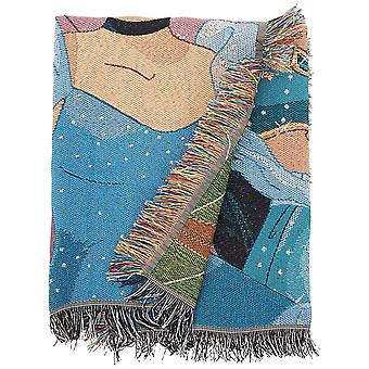 Woven Tapestry Throws - Disney Princesses - Born To Rule New 023991