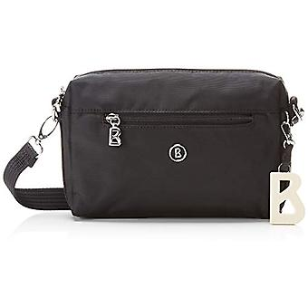 فيربير Pukie Shoulderbag Shz - حقائب كتف النساء السود (شوارز (أسود)) 4.0x15.0x22.0 سم (B x H T)