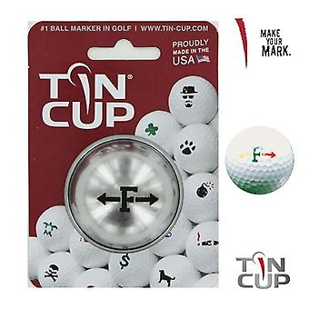 Tin Cup Golf Ball Marking System Alpha Players F
