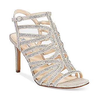 INC Gawdie Sparkle Strappy Evening Sandals Champagne Size 9M