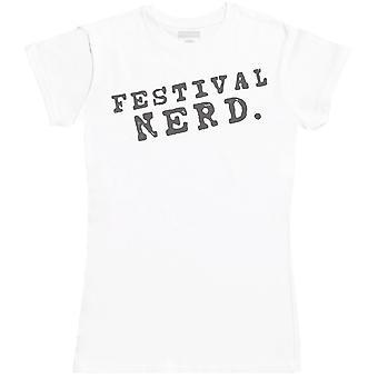 Festival Nerd. - Womens T-Shirt