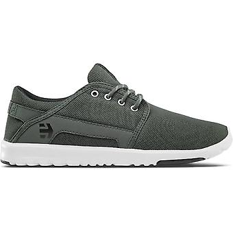 Etnies Scout Trainers in Dark Green