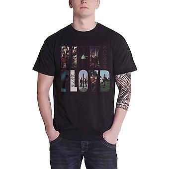 Nouveau fonctionnaire de Pink Floyd T Shirt Mens Black échos Album Montage