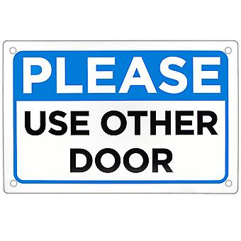 Please Use Other Door Sign 18