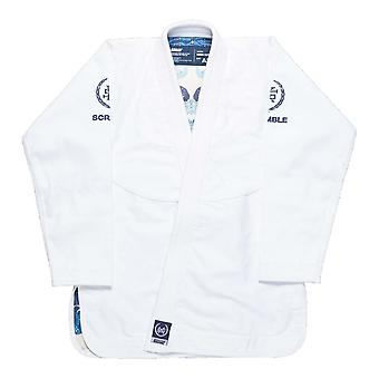 Scramble New Wave BJJ Gi Blanc
