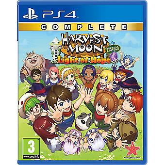 Harvest Moon Light of Hope Complete Special Edition PS4 Game