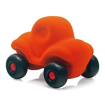 Rubbabu Funny Car Little (Orange) Vehicle Push Along Playset Kids Child Toy