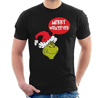 The Grinch Merry Whatever Men's T-Shirt