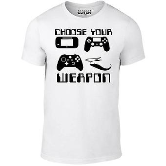Välj din vapen Gamer t-shirt