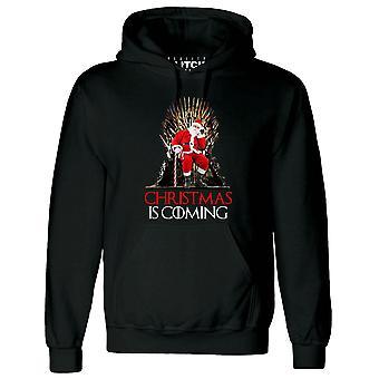 Kerstmis is coming hoodie