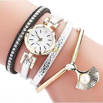 Shell Layered multi wrap armband klocka