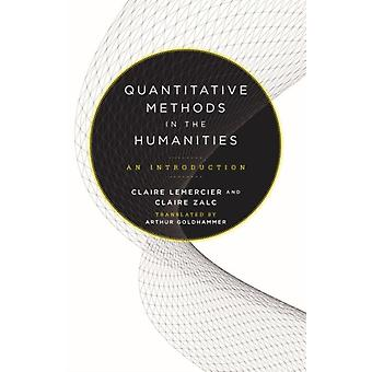 Quantitative Methods in the Humanities An Introduction by Lemercier & Claire
