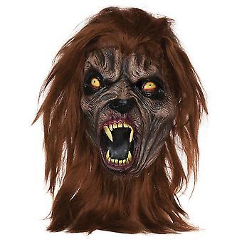 Maschera di bestia scura