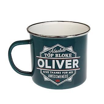Historia & Heraldry Oliver Tin Mug 69
