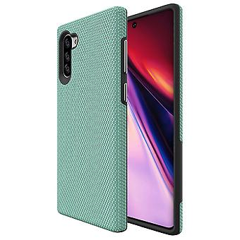 For Samsung Galaxy Note 10 Armour Case Shockproof Slim Elegant Back Cover Mint