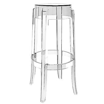 Fusion Living Ghost estilo bar fezes Crystal Clear-76cm