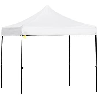 Outsunny 2.9m x 2.9m Pop Up Gazebo Marquee Party Tent  Canopy w/ Sand Bag- White
