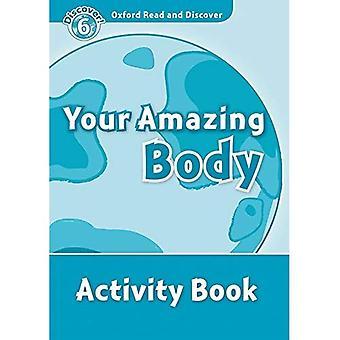 Oxford lire et découvrir: niveau 6: 1 050-mot vocabulaire votre cahier d'activités de corps incroyable
