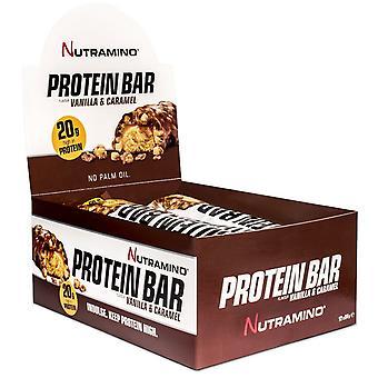 Nutramino Protein Bar Peanut & Caramel  12 x 60 gr