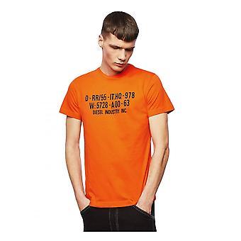 Diesel T Diego S2 T skjorte oransje