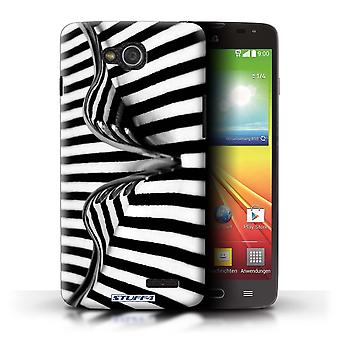 STUFF4 Case/Cover for LG L90 Dual/D410/Fork/Stripes/Abstract Art