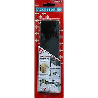 FASTECH® 919-9999C Gancho e laço fita stick-on (adesivo de derretimento quente) Gancho e almofada de loop (L x W) 500 mm x 50 mm Preto 1 Par
