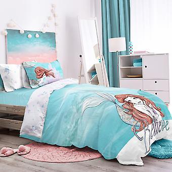 Little Mermaid Believe Bedding Set - Double