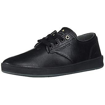 Emerica Men's The Romero Laced Shoes,10,Black/Black/Grey
