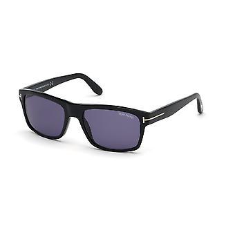 توم فورد أغسطس TF678 01V النظارات الشمسية السوداء / الخضراء