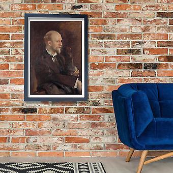 John Singer Sargent - Charles Martin Loeffler Poster impressão giclée