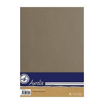 Aurelie Kraft papír šedá