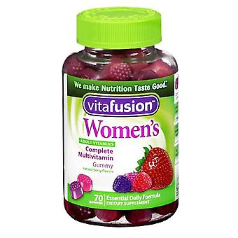 Vitafusion kobiet codziennie multiwitaminowy, żelków, 70 ea