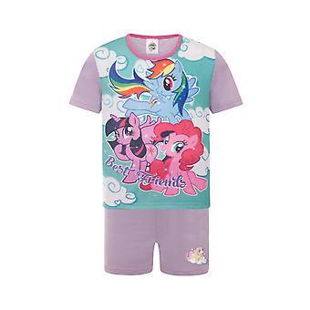 My Little Pony Pinkie Pie Rainbow Dash Official Gift Girls Short Pyjamas