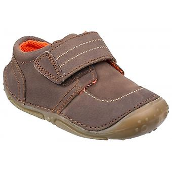 Hush Puppies Leo Boys Casual Shoes Brown