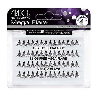 Ardell Mega Flare Individuals Medium Black