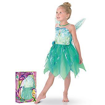 Coffret déguisement luxe Fée Clochette Pixie enfant