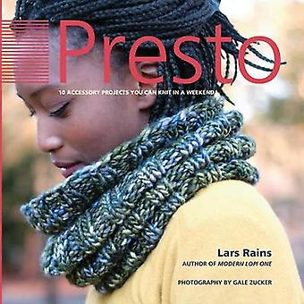 Presto 10 Accessory Projects You Can Knit In A Weekend by Rains & Lars