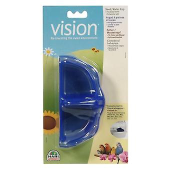 Vision Seed and Water Cup (Birds , Feeders & Water Dispensers , For Cages)