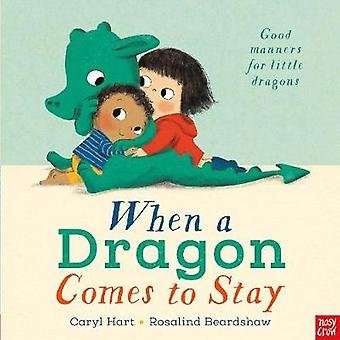 When a Dragon Comes to Stay by Caryl Hart - 9781788001977 Book