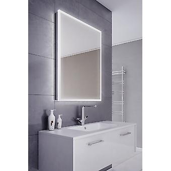Siryn Edge Illuminated Bathroom Mirror with Sensor & Demister Pad k716