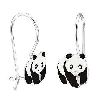 Panda - Epoxy Colour + 925 Sterling Silver Earrings Ms28644 - W28644x