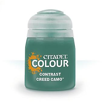 Contrast: Creed Camo (18ml), Citadel Paint Contrast, Warhammer 40,000