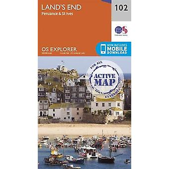 Land's End - Penzance & St Ives - 9780319475645 Libro
