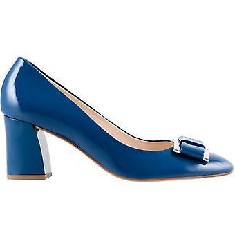Hogl fancy blauwe hoge hakken womens blauw