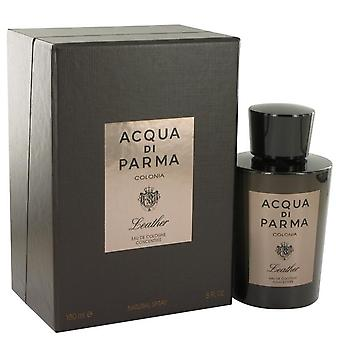 Acqua Di Parma Colonia Leather Eau De Cologne Concentree Spray By Acqua Di Parma 6 oz Eau De Cologne Concentree Spray