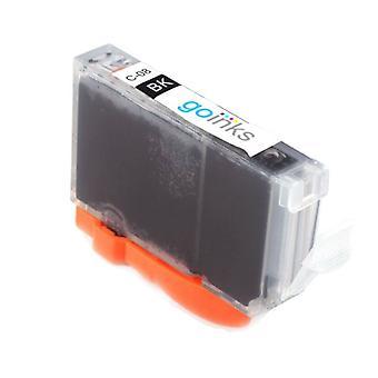 1 musta mustekasetti Canon CLI-8Bk -yhteensopivan/ei-OEM-laitevalmistajan korvaamiseksi Go Inksistä