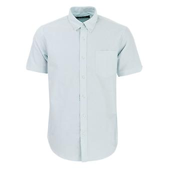 Men's Ben Sherman Oxford Kurzarm Shirt in grün