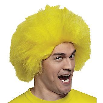 Hauska keltainen Wig