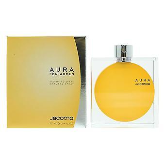 Jacomo Aura For Women Eau de Toilette 75ml Spray For Her