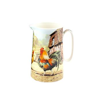 Cockerel And Hen Jug